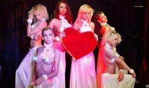 Современное эротическое шоу от DiamondGirls