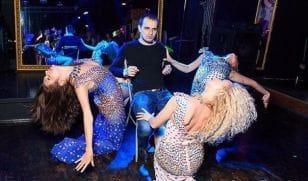 Танцевальное шоу на корпоратив
